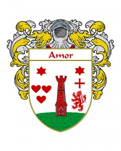 Amor Spanish Coat of Arms
