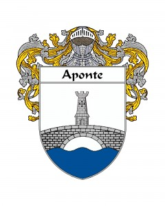 Aponte Spanish Coat of Arms