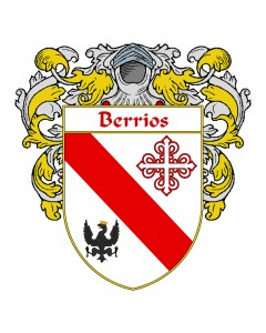 Berrios Spanish Coat of Arms