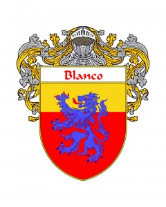 Blanco Spanish Coat of Arms