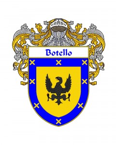 Botello Spanish Coat of Arms