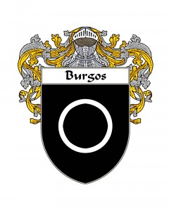 Burgos Spanish Coat of Arms