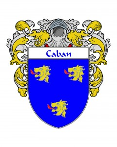 Caban Coat of Arms