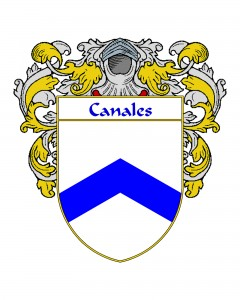 Canales Spanish Coat of Arms