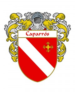 Caparros Spanish Coat of Arms