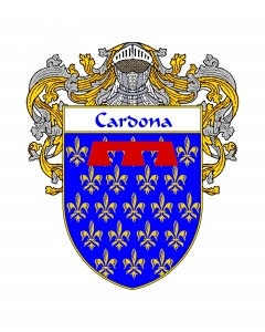 Cardona Spanish Coat of Arms