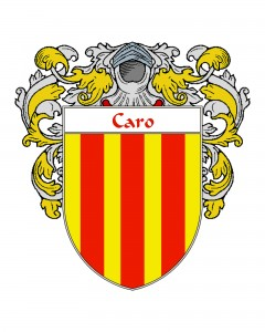 Caro Spanish Coat of Arms