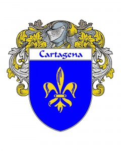 Cartagena Spanish Coat of Arms