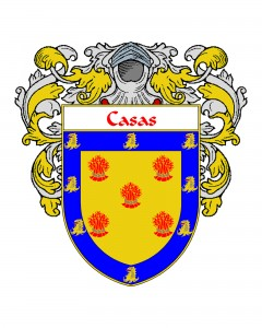 Casas Spanish Coat of Arms