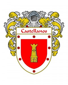 Castellanos Spanish Coat of Arms