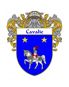 Cavalie Spanish Coat of Arms