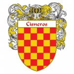 Cisneros Coat of Arms 150x150 Spanish Coat Of Arms