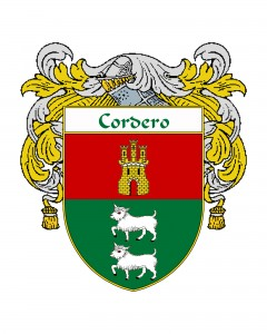 Cordero Coat of Arms