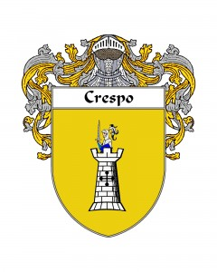 Crespo Spanish Coat of Arms