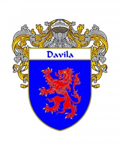 Davila Spanish Coat of Arms