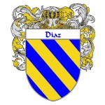 Diaz Coat of Arms 150x150 Spanish Coat Of Arms