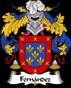 Fernandez Coat of Arms, Fernandez Family Crest, Fernandez escudo de armas, Fernandez cresta de la familia