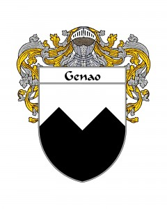Genao Spanish Coat of Arms