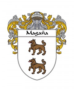 Magana Spanish Coat of Arms