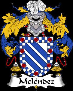 Melendez Coat of Arms, Melendez Family Crest, Melendez escudo de armas, Melendez cresta de la familia, Melendez apellido, Melendez Family reunion, spanish genealogy