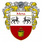 Mena Coat of Arms 150x150 Spanish Coat Of Arms