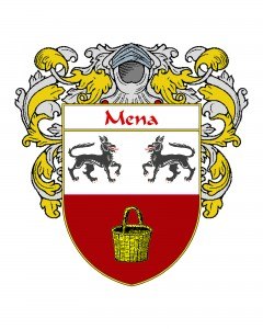 Mena Spanish Coat of Arms