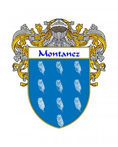 Montanez Spanish Coat of Arms