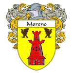 Moreno Caot of Arms 150x150 Spanish Coat Of Arms