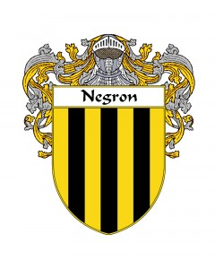 Negron Spanish Coat of Arms