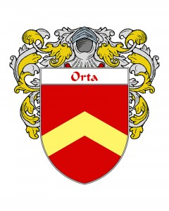 Orta Spanish Coat of Arms