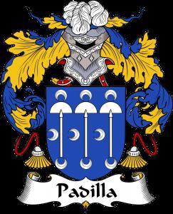 Padilla Coat of Arms, Padilla Family Crest, Padilla escudo de armas, Padilla cresta de la familia