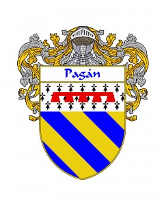 Pagan Spanish Coat of Arms
