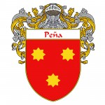 Pena Coat of Arms 150x150 Spanish Coat Of Arms
