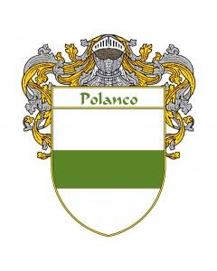Polanco Spanish Coat of Arms