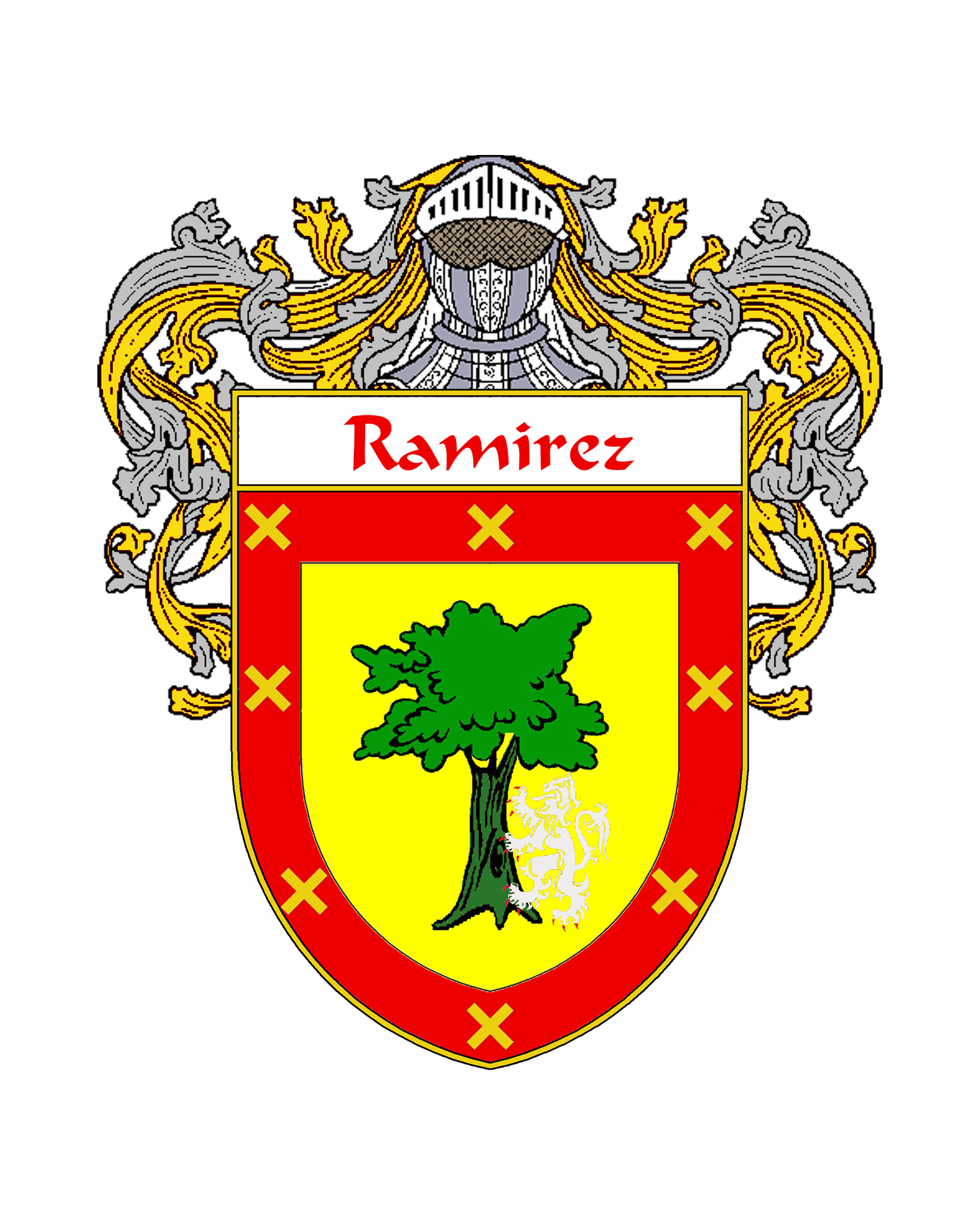 Ramirez Family Crest Tattoo