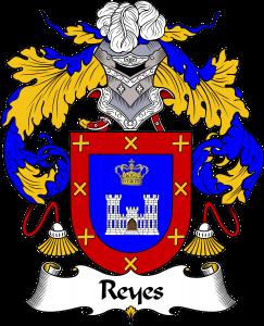 Reyes Coat of Arms