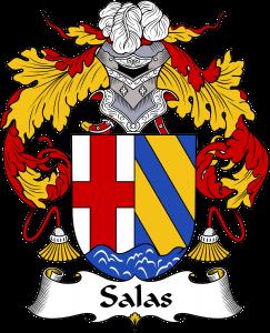Salas Coat of Arms, Salas Family Crest, Salas escudo de armas, Salas cresta de la familia