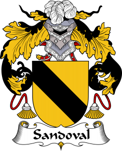 Sandoval Coat of Arms, Sandoval Family Crest, Sandoval escudo de armas, Sandoval cresta de la familia