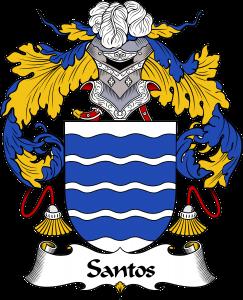 Santos Coat of Arms, Santos Family Crest, Santos escudo de armas, Santos cresta de la familia