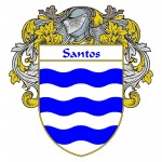 Santos Coat of Arms 150x150 Spanish Coat Of Arms