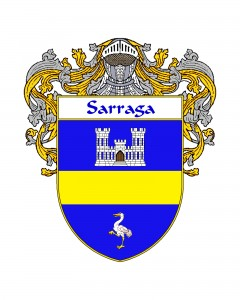 Sarraga Spanish Coat of Arms