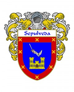 Sepulveda Spanish Coat of Arms