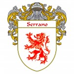Serrano Coat of Arms 150x150 Spanish Coat Of Arms