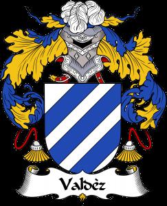 Valdez Coat of Arms, Valdez Family Crest, Valdez escudo de armas, Valdez cresta de la familia
