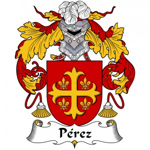 Perez Coat of Arms