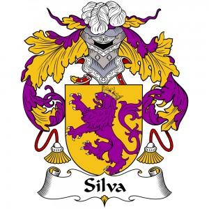 Silva Coat of Arms, Silva Family Crest, Silva escudo de armas, Silva cresta de la familia