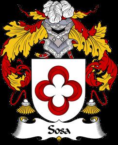 Sosa Coat of Arms, Sosa Family Crest, Sosa escudo de armas, Sosa cresta de la familia