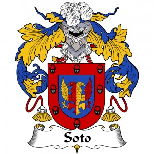Soto Coat of Arms, Soto Family Crest, Soto escudo de armas, Soto cresta de la familia