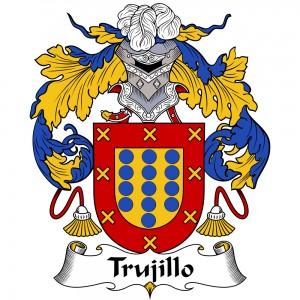 Trujillo Coat of Arms, Trujillo Family Crest, Trujillo escudo de armas, Trujillo cresta de la familia