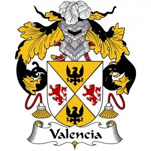 Valencia Coat of Arms, Valencia Family Crest, Valencia escudo de armas, Valencia cresta de la familia